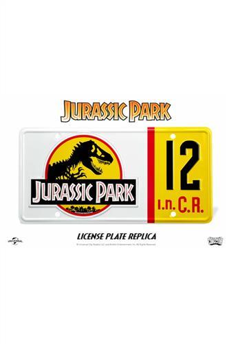 Jurassic Park Nedry Nummerplade