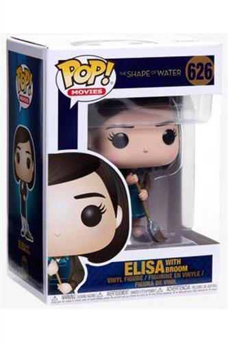 Shape of Water - Pop! - Elisa with Broom