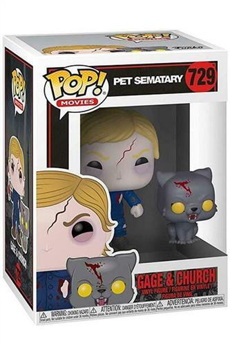 Pet Sematary - Pop! - Undead Gage & Church