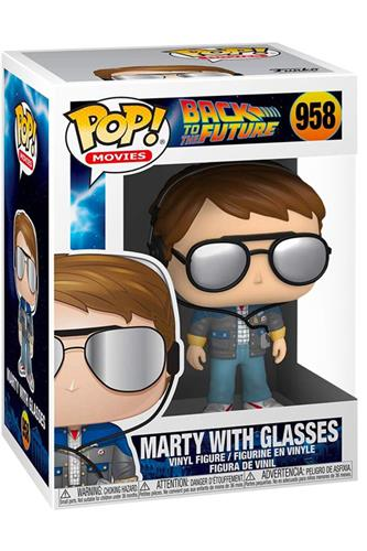 Back to the Future - Pop! - Marty w/ Glasses