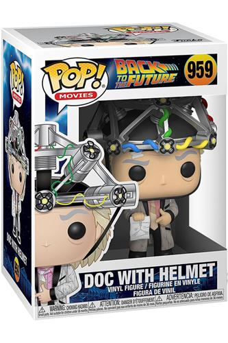 Back to the Future - Pop! - Doc w/ Helmet