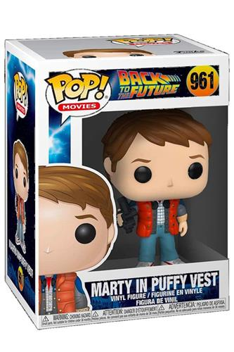 Back to the Future - Pop! - Marty in Puffy Vest