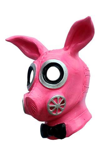 Kinky Kanin Gasmaske