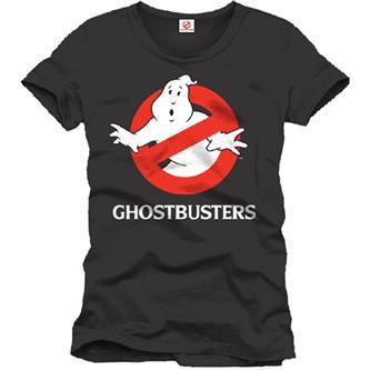 Ghostbusters T-Shirt Logo black Size L