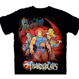 T-Shirt: Thundercats  Standing Group  Size L