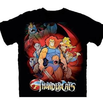 T-Shirt: Thundercats  Standing Group  Size S