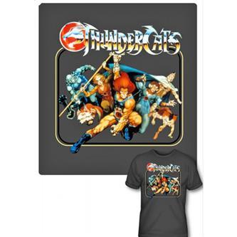 T-Shirt: Thundercats  Square Group Size XL
