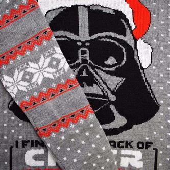 Official Star Wars Darth Vader Christmas Jumper