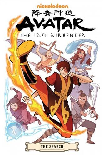 Avatar the Last Airbender The Search Omnibus (vol. 1-3)