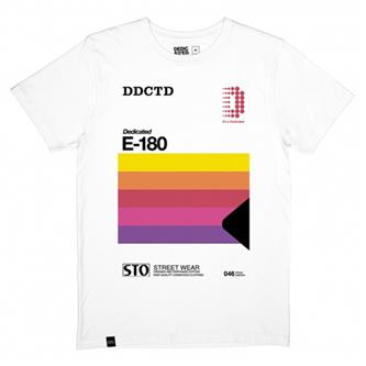 T-Shirt: DDCTD E-180 Video (Organic) L