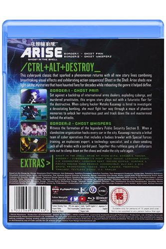 Ghost in the Shell: Arise - Borders 1 & 2 (Blu-Ray)