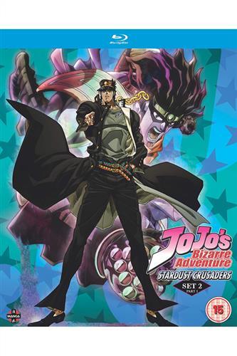 Jojo's Bizarre Adventure S2 - Stardust Crusaders Part One (Ep. 1-24) Blu-Ray