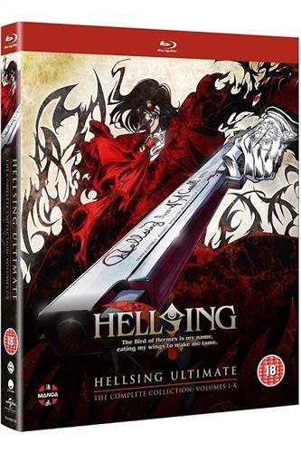 Hellsing Ultimate Collection (Ep. 1-10) Blu-Ray