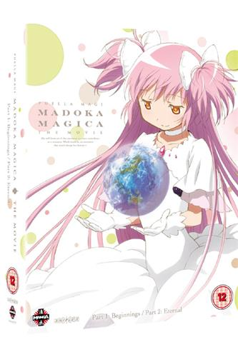 Puella Magi Madoka Magica Movie 1 & 2 (Blu-Ray)