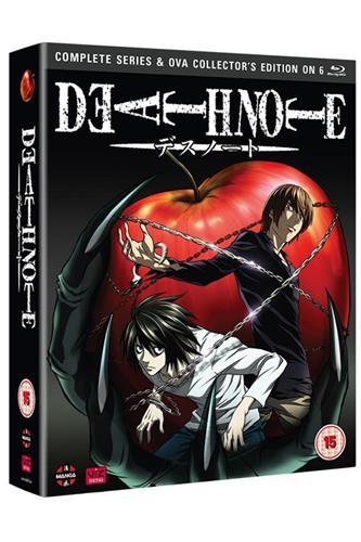 Death Note - Complete (Ep. 1-37 & OVA) Blu-Ray