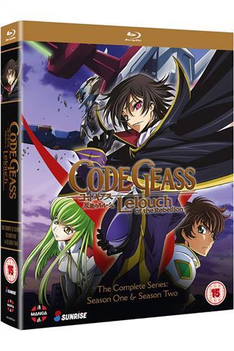 Code Geass: Lelouch of the Rebellion - Season 1 & 2 (Ep. 1-50) Blu-Ray