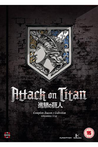Attack on Titan - Season 1 (Ep. 1-25) DVD