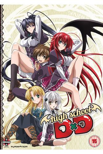 High School Dxd - Complete (Ep. 1-12 & OVA) DVD