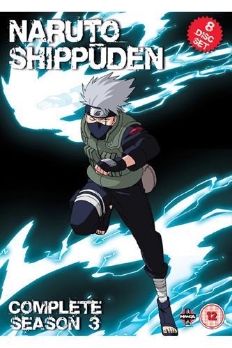 Naruto Shippuden - Complete Series 3 (Ep. 101-153) DVD