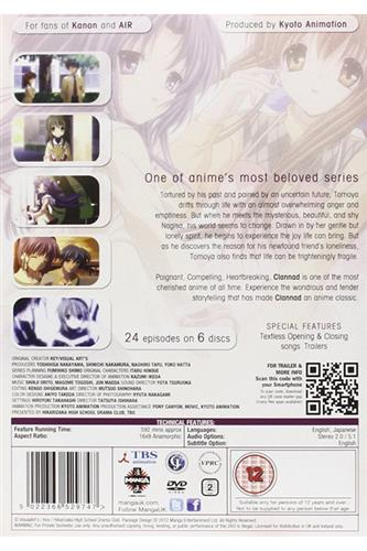 Clannad - Complete (Ep. 1-24) DVD