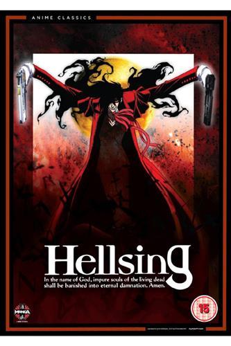 Hellsing - Complete Original Series (Ep. 1-13) DVD