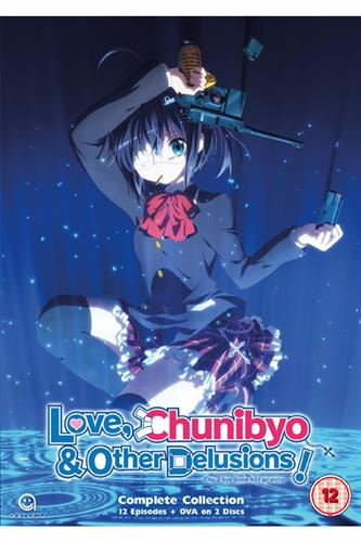 Love, Chunibyo & Other Delusions - Series 1 (Ep. 1-12 & OVA) DVD