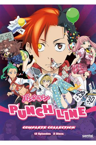 Punch Line - Complete (Ep. 1-12) DVD