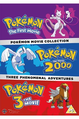 Pokemon Movie 1-3 Collection (DVD)