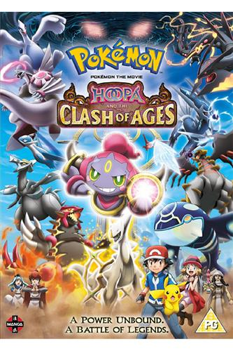 Pokemon Movie: Hoopa & Clash of Ages (DVD)