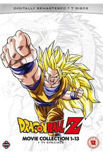 Dragon Ball Z Movie Collections 1-13 Plus Tv Specials (DVD)