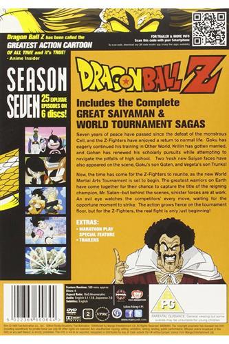 Dragon Ball Z - Season 7 (Ep. 195-219) DVD
