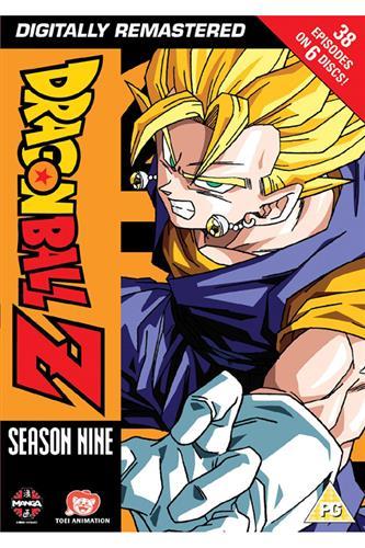 Dragon Ball Z - Season 9 (Ep. 254-291) DVD