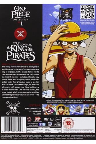 One Piece Collection 1 (Ep. 1-26) DVD