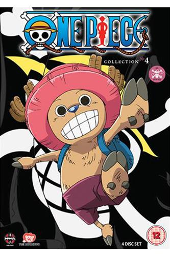 One Piece Collection 4 (Ep. 79-103) DVD
