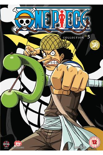One Piece Collection 5 (Ep. 104-130) DVD
