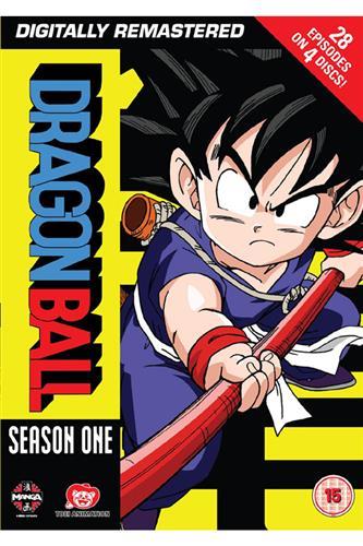Dragon Ball - Season 1 (Ep. 1-28) DVD