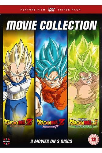 Dragon Ball: Movie Trilogy - Battle of Gods/Resurrection F/Broly (DVD)
