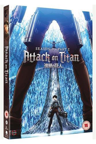 Attack on Titan - Season 3 Part One (Ep. 38-49) DVD