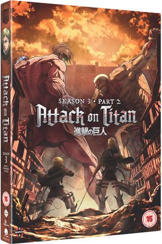 Attack on Titan - Season 3 Part Two (Ep. 50-59) DVD