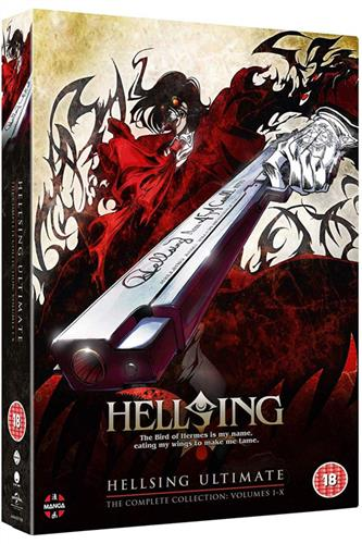 Hellsing Ultimate Collection (Ep. 1-10) DVD