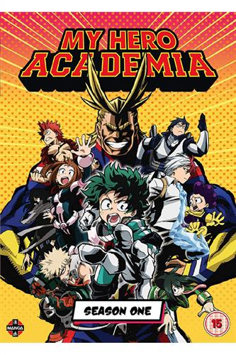 My Hero Academia - Season 1 (Ep. 1-13) DVD