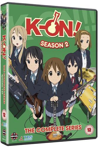 K-On! - Season 2 (Ep. 1-26) DVD