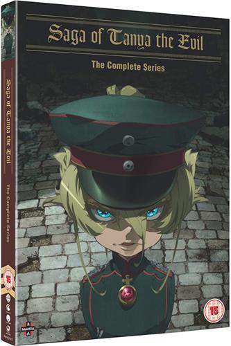Saga of Tanya the Evil - Complete (Ep. 1-12) DVD