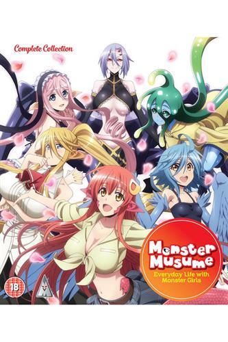Monster Musume - Complete (Ep. 1-12 & OVA) Blu-Ray