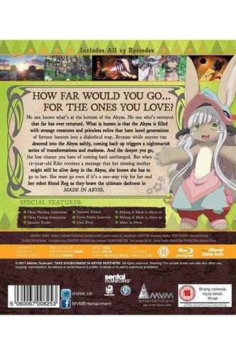 Made in Abyss - Complete (Ep. 1-13) Blu-Ray