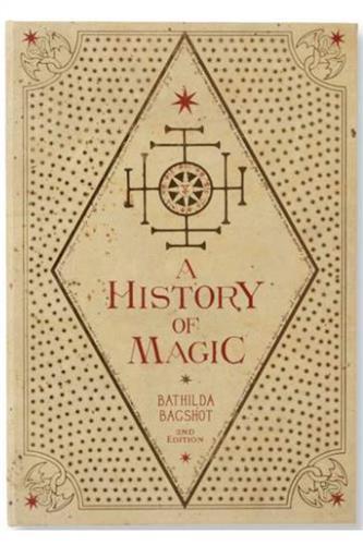 Harry Potter - A History of Magic, Notesbog