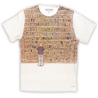 T-shirt Moebius, Biblioteque