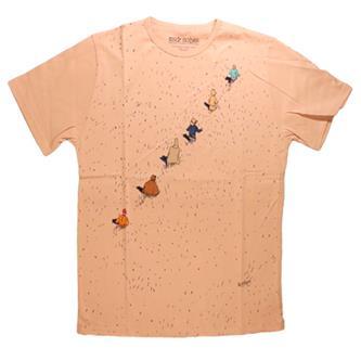 T-shirt Moebius, Bunker