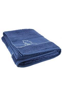 Badehåndklæde - stort, blå