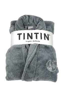 Badekåbe Tintin, sølvgrå